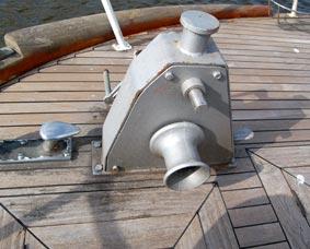 RVS constructie en scheepsbeslag